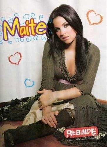 post a pic of maite perroni the espanol actress