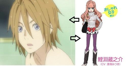 where boy Anime girl dressed as