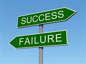 Succes failure?