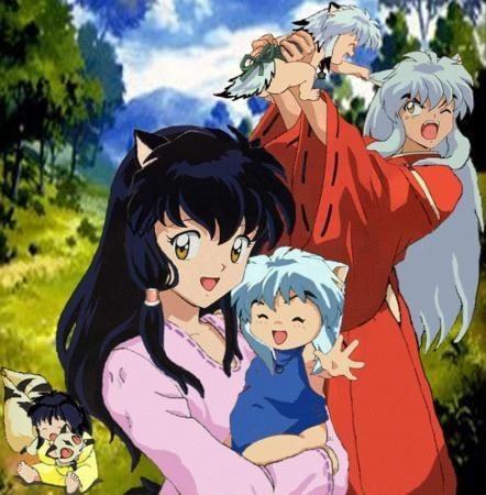 If InuYasha and Kagome ever have child (If the hiển thị was still going)