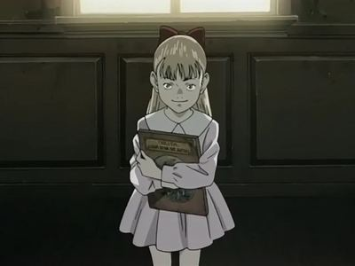 post a pic یا video of a creepy kid from anime.