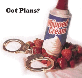 What are somethings that आप do या would do दिया the chance with whipped cream? o_o