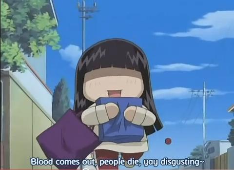 Post an anime character tu act like