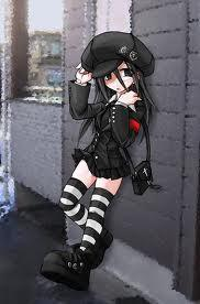Post an Anime character wearing a hat.