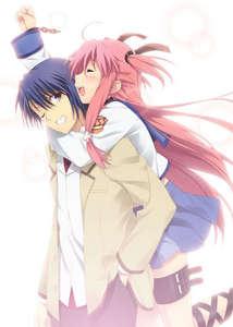 Post a pic of a cute anime couple anime answers fanpop post a pic of a cute anime couple altavistaventures Choice Image