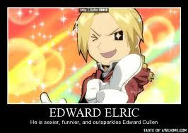 I'm going to involve FMA in everything on fanpop for awhile. Problem? >:I