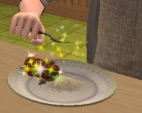 Any particular reason why food sparkles?
