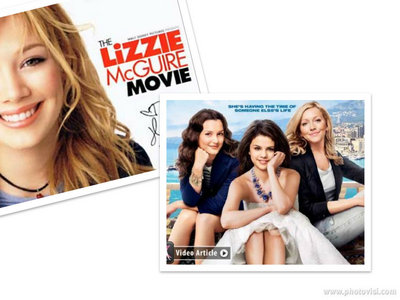 what do आप think about people who keep comparing this movie to Lizzie mcguire movie?