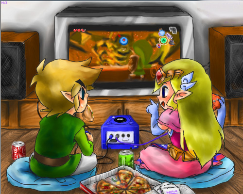 if link asked toi out on rendez-vous amoureux, date what would toi say ou do