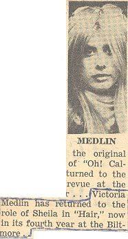Have toi ever heard of Victoria Medlin?