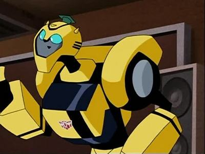 bumblebee iz nt in transformers cybertron n this totally stinks wat do u guyz think??????