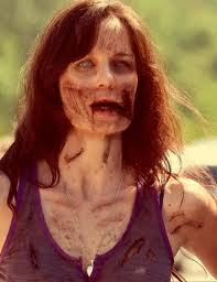 Will Lori become a walker in season 3 cuz I saw a picture of her as a zombie!!??