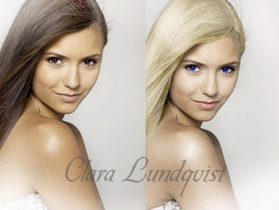 Contest!!If Du send me a Foto with elena gilbert blonde and blue eyes 15 Requisiten the best!