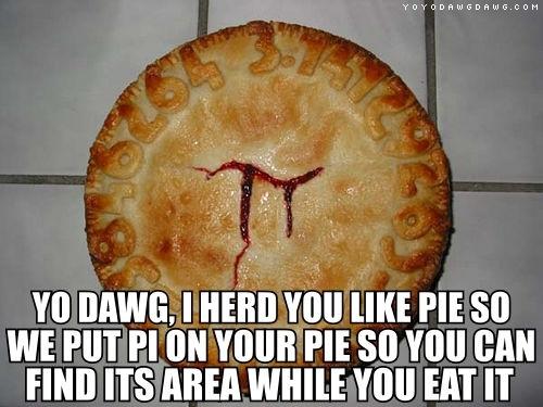 Do আপনি like pie?