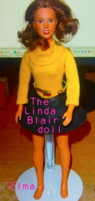 Do anda think this doll looks like Linda Blair?
