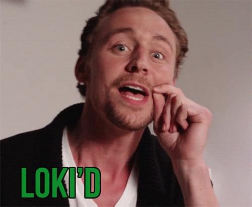 an somebody please mostrar me the scene when Tom Hiddleston screams LOKI'D!! - on youtube???