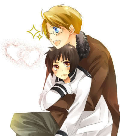 Favorit Hetalia pairing... Doesn't have to be yaoi, can be best buddies...!