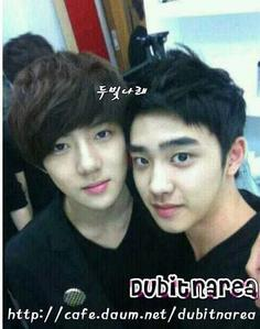 post your fave pic of D.O with your bias...