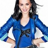 Post a pic of Katy wearing blue!