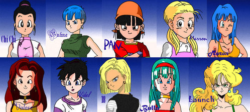 Who are your পছন্দ DBZ girls and why?