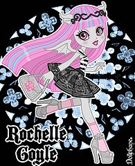 Is there a Monster High Episode with Rochelle Goyle or Robecca Steam in it?