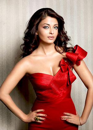 Beautiful dress for Aishwarya Rai