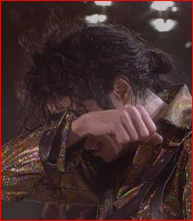 Is Michael really crying here? :'(