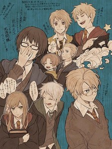 Who is your least inayopendelewa character in Hetalia and why?