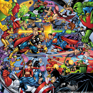 Justice League یا the Avengers?