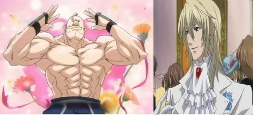 What are two anime characters that seem nothing alike, but are EXTREMELY alike?
