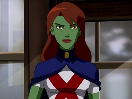 How is your favorito! young justice girl?