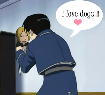 Post a picture of an anime character turned into a dog. :D