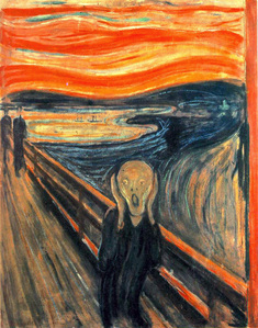Was the Scream based on the picture, the Scream.