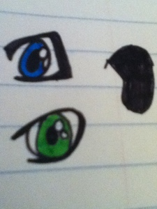Out of all the Аниме eyes I drew, which one is your favorite?
