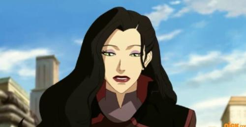 Doesn't Asami look goth?
