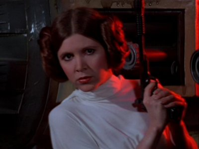 What makes Princess Leia a princess?