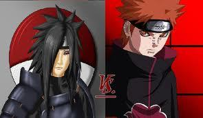 Madara Uchiha vs Pein  Uchiha Itachi Vs Pain
