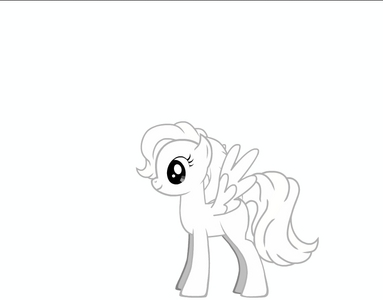make a colourless pony with pony creator example my little pony