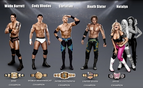Who Do You Want To Be Wwe Champion / U.s Champ/ Intercontinental Champ / Heavy Weight Champ / Divas Champ ?