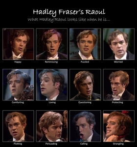 Do te think Hadley Fraser was Cute as Raoul?