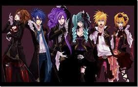 gothic vocaloid characters Vocaloid Characters