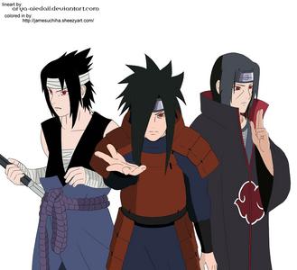 who's hotter? itachi , sasuke or madara?