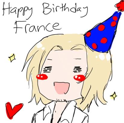 Happy Birthday France!!!