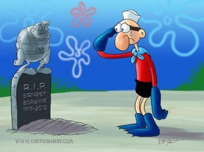 Now that Ernest Borgnine (Mermaid Man) is dead, what will they do?