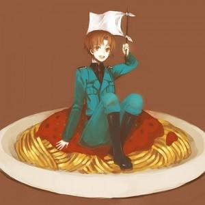 Post an 日本动漫 character eating their 最喜爱的 食物