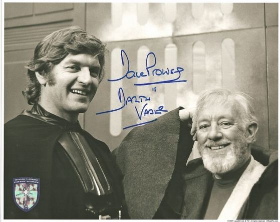Lord Vader unmasked with Alec G.