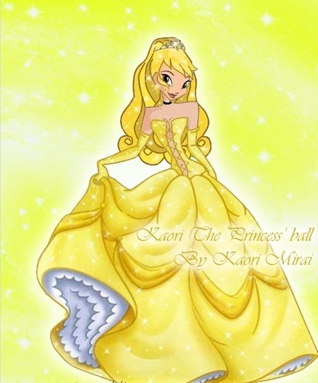 Lilly in her final Princess Dress!!