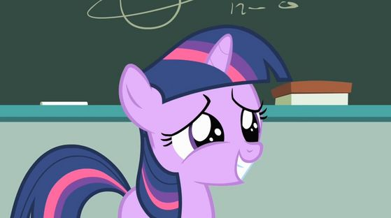 Twilight Sparkle as a filly