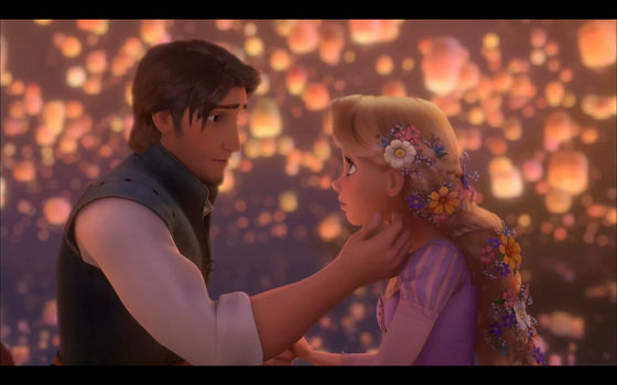Princess Rapunzel and now Prince Eugene (2010)