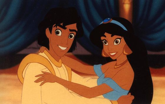 Princess Jasmine and Prince Aladdin (1992)